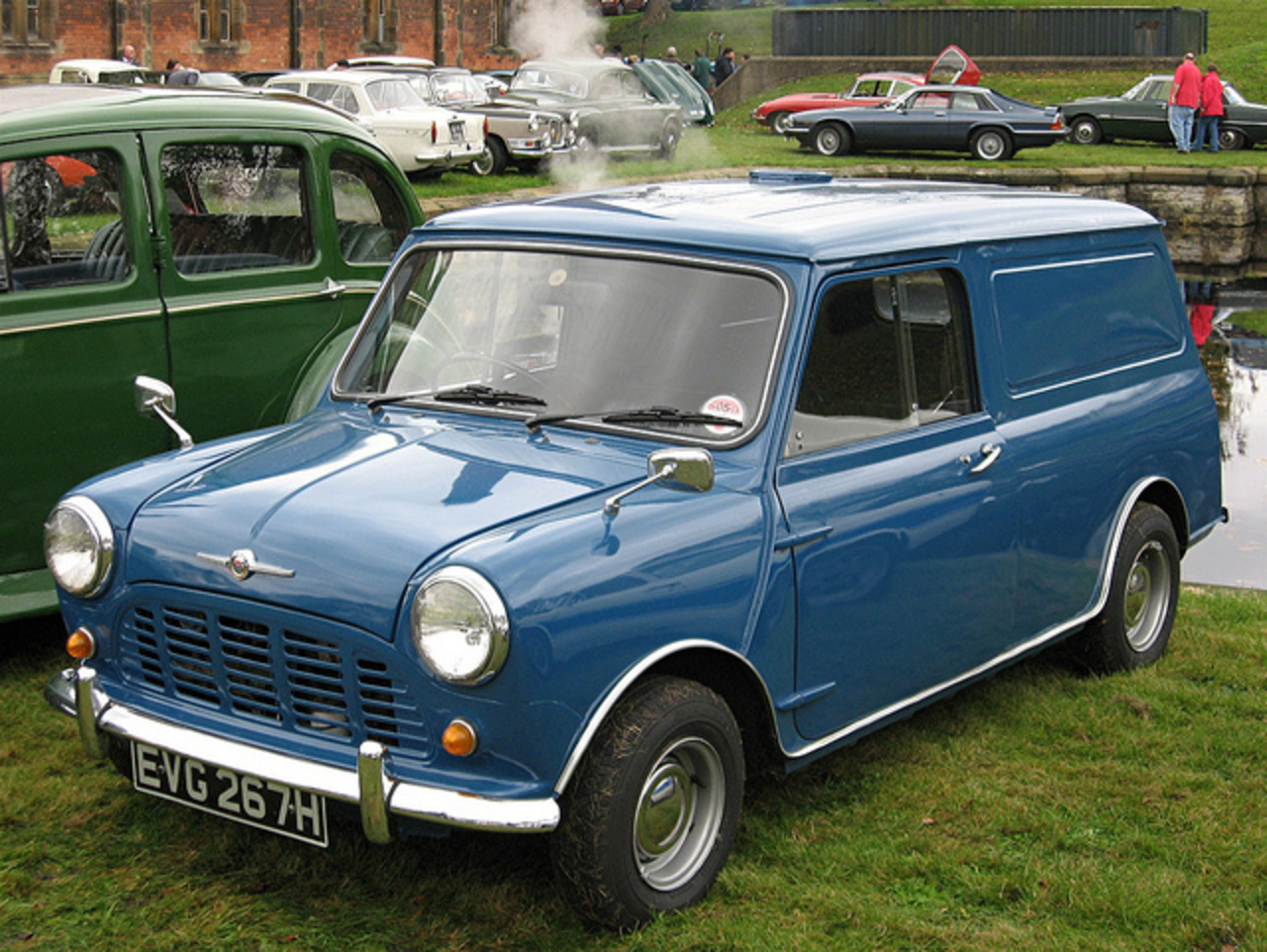 Morris Mini Van | Flickr - Photo Sharing!