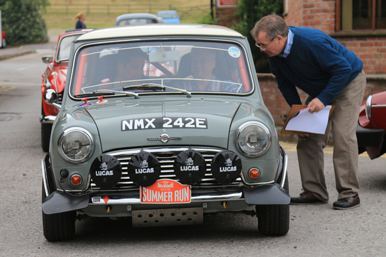 Morris Mini Cooper S - HRCR Summer Run 2012 | Flickr - Photo Sharing!