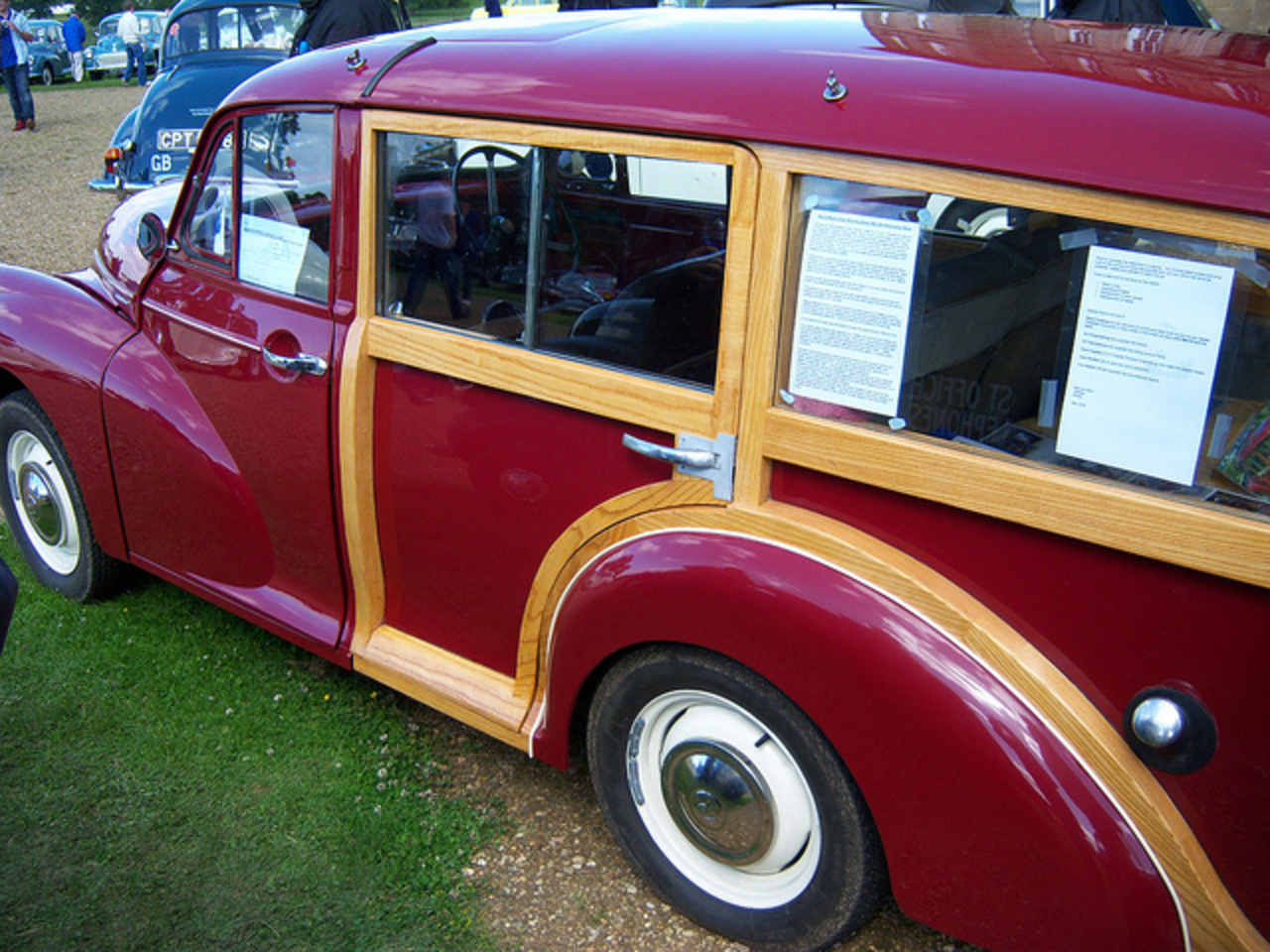 Stretched Morris Minor Traveller | Flickr - Photo Sharing!