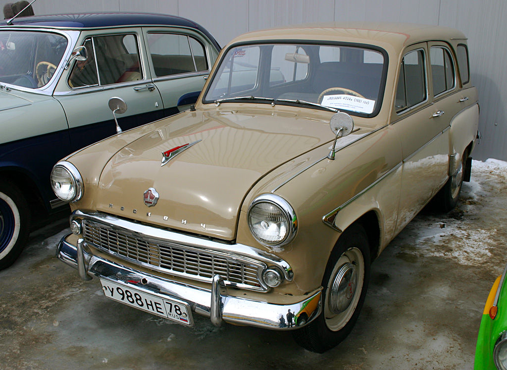 Moskvitch 423N – Russia