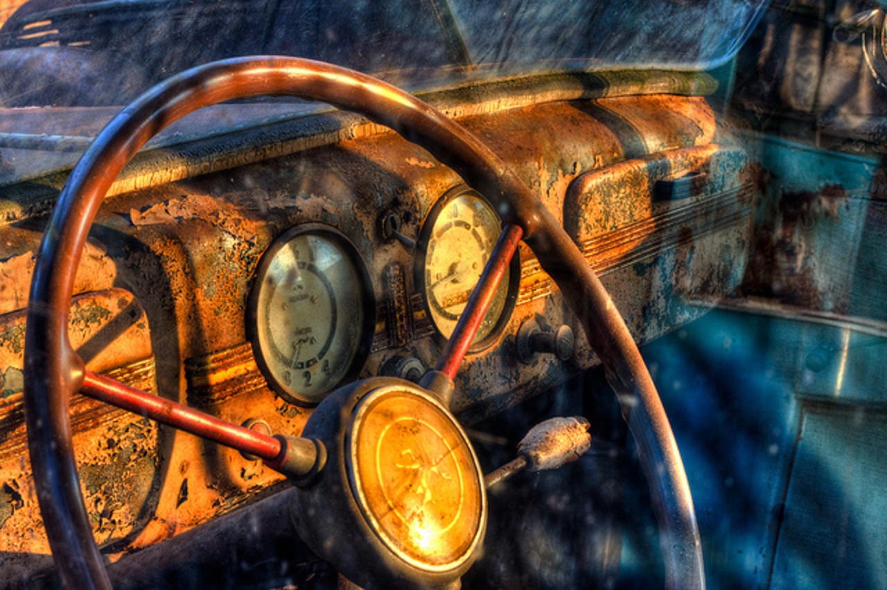 Moskvitch 401 dashboard | Flickr - Photo Sharing!