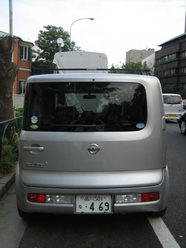 nissan cube back | Flickr - Photo Sharing!