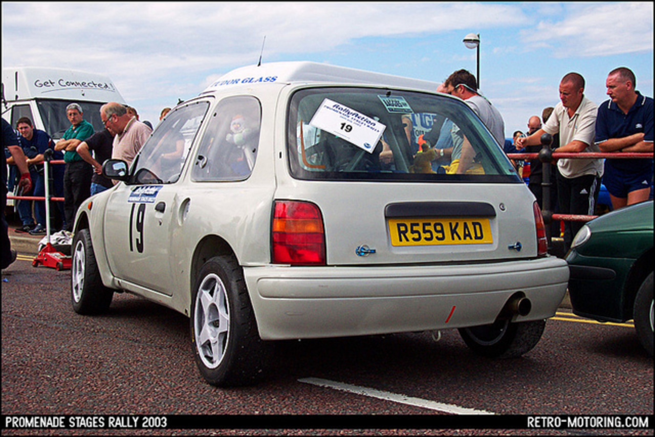 Nissan Micra Rally Car R559KAD | Flickr - Photo Sharing!
