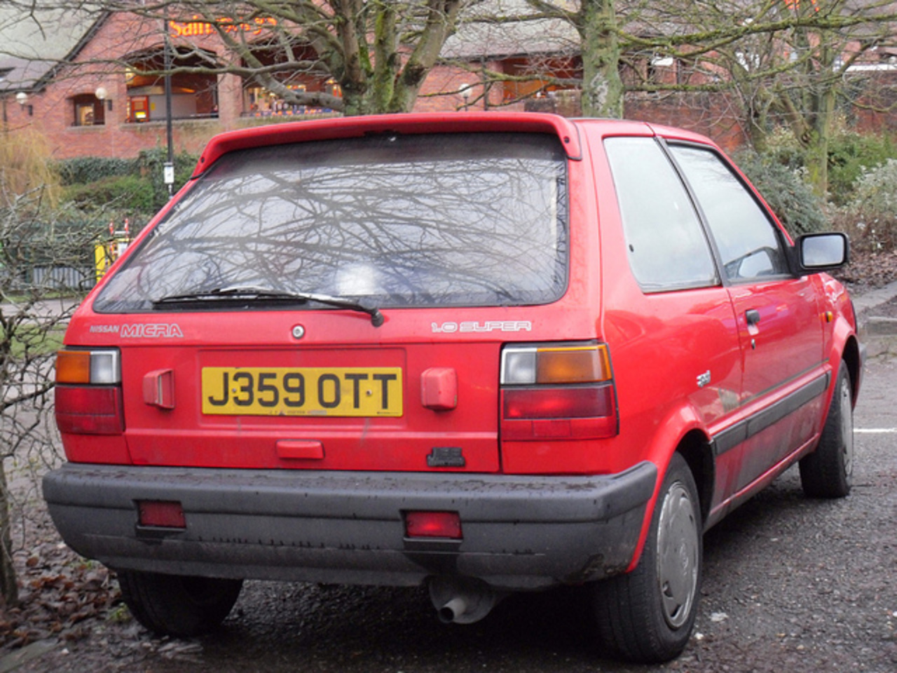 1992 Nissan Micra K10 1.0 Super. | Flickr - Photo Sharing!