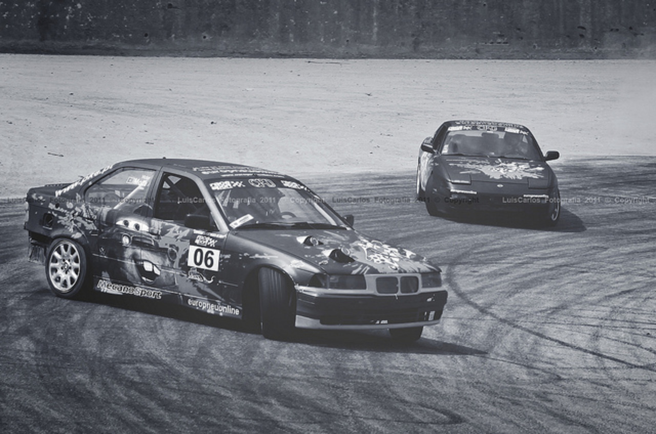 BMW E36 vs Nissan 200 SX S13 @ CPDrift Lousada | Flickr - Photo ...