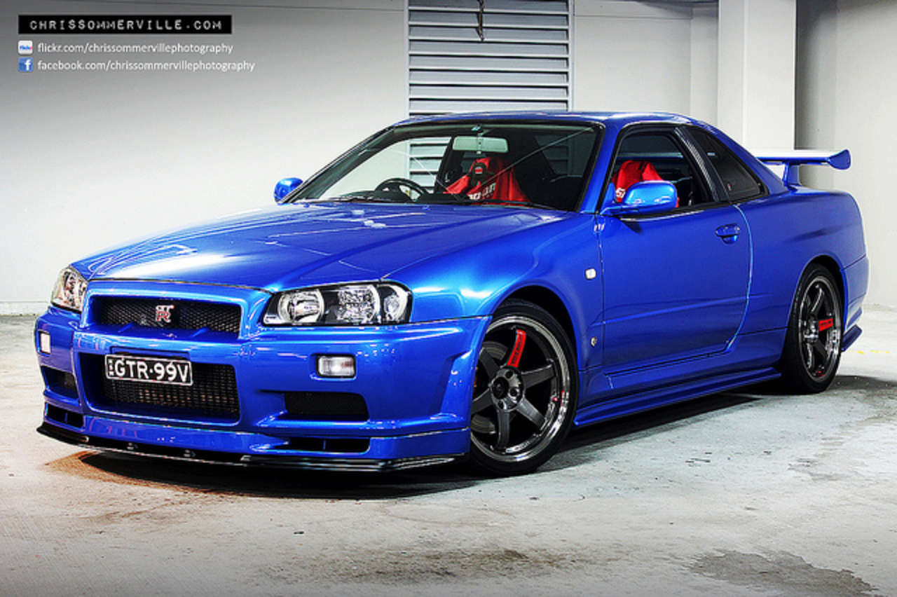 topworldauto photos of nissan skyline r34 gt r photo. Black Bedroom Furniture Sets. Home Design Ideas