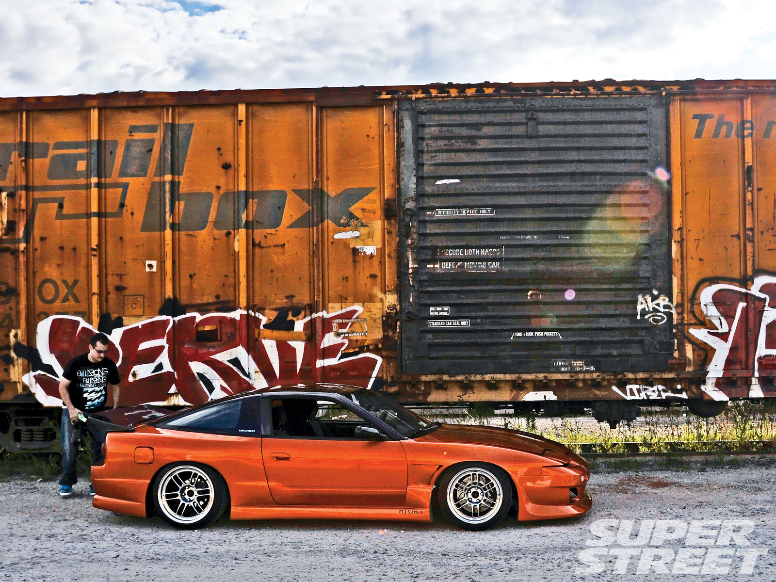 1989 Nissan 240Sx Right View Photo 5