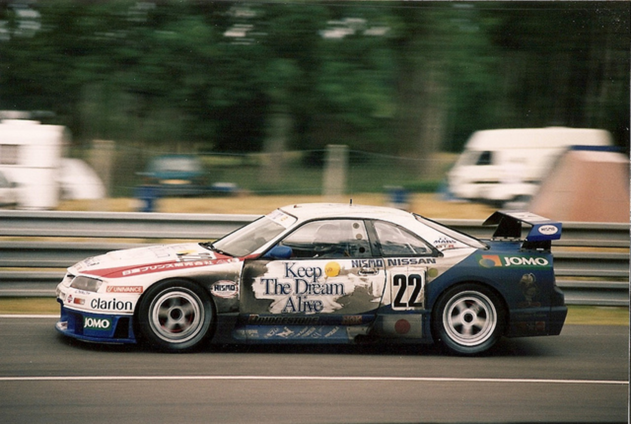 Nissan Skyline GT-R LM - Le Mans 1995 | Flickr - Photo Sharing!