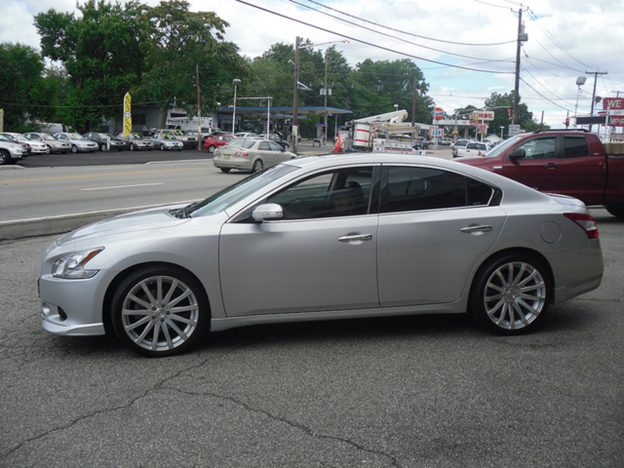 rayco 2 nj nissan maxima mrr hr9 wheels concave | Flickr - Photo ...