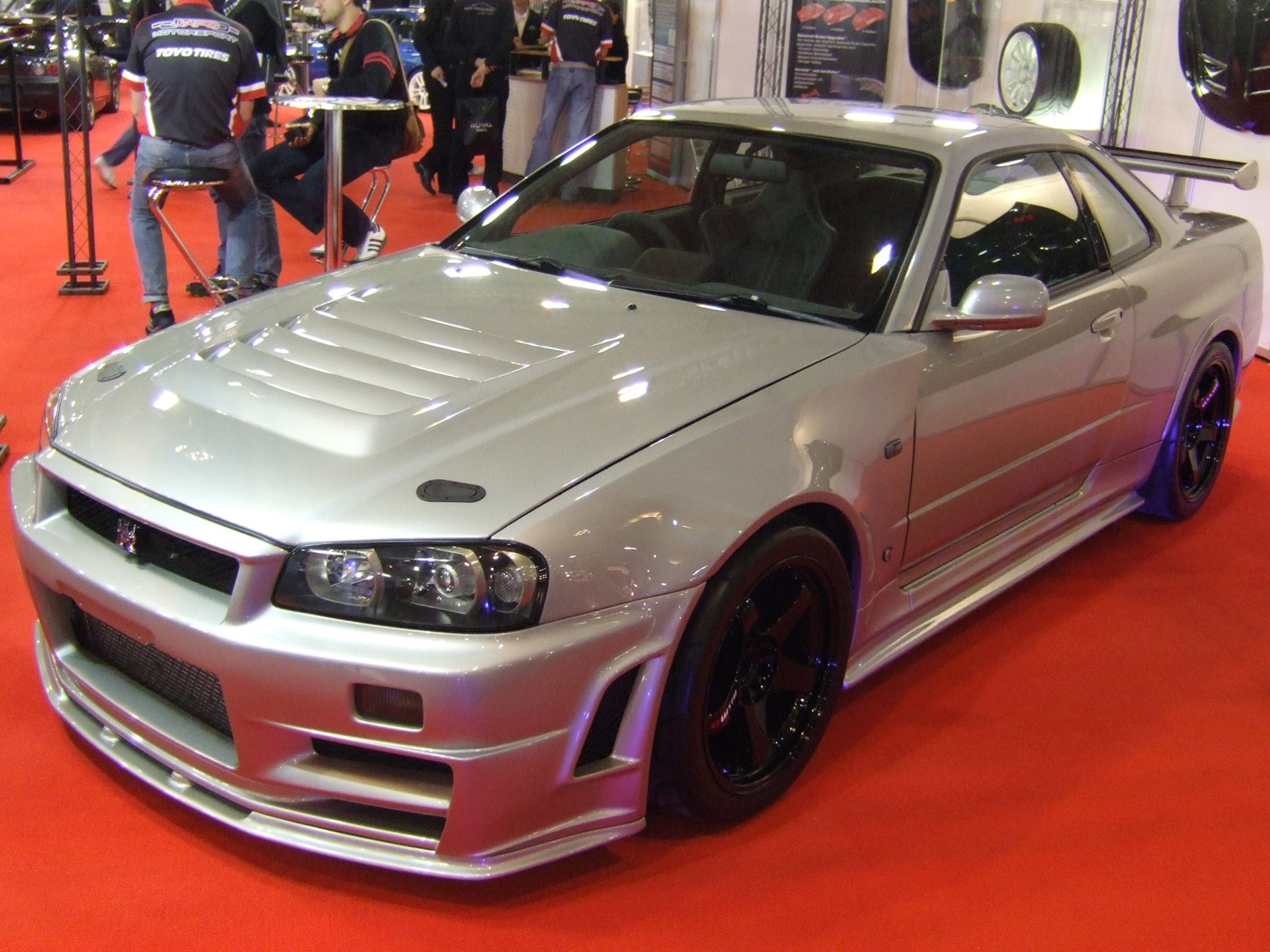 JAPO-Motorsport Nissan Skyline GT-R 1 | Flickr - Photo Sharing!