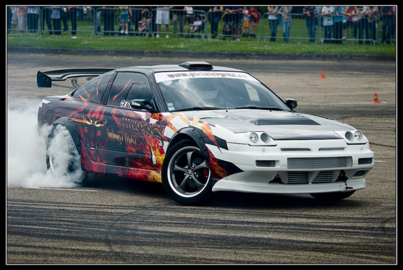 Nissan 200 SX Drift | Flickr - Photo Sharing!