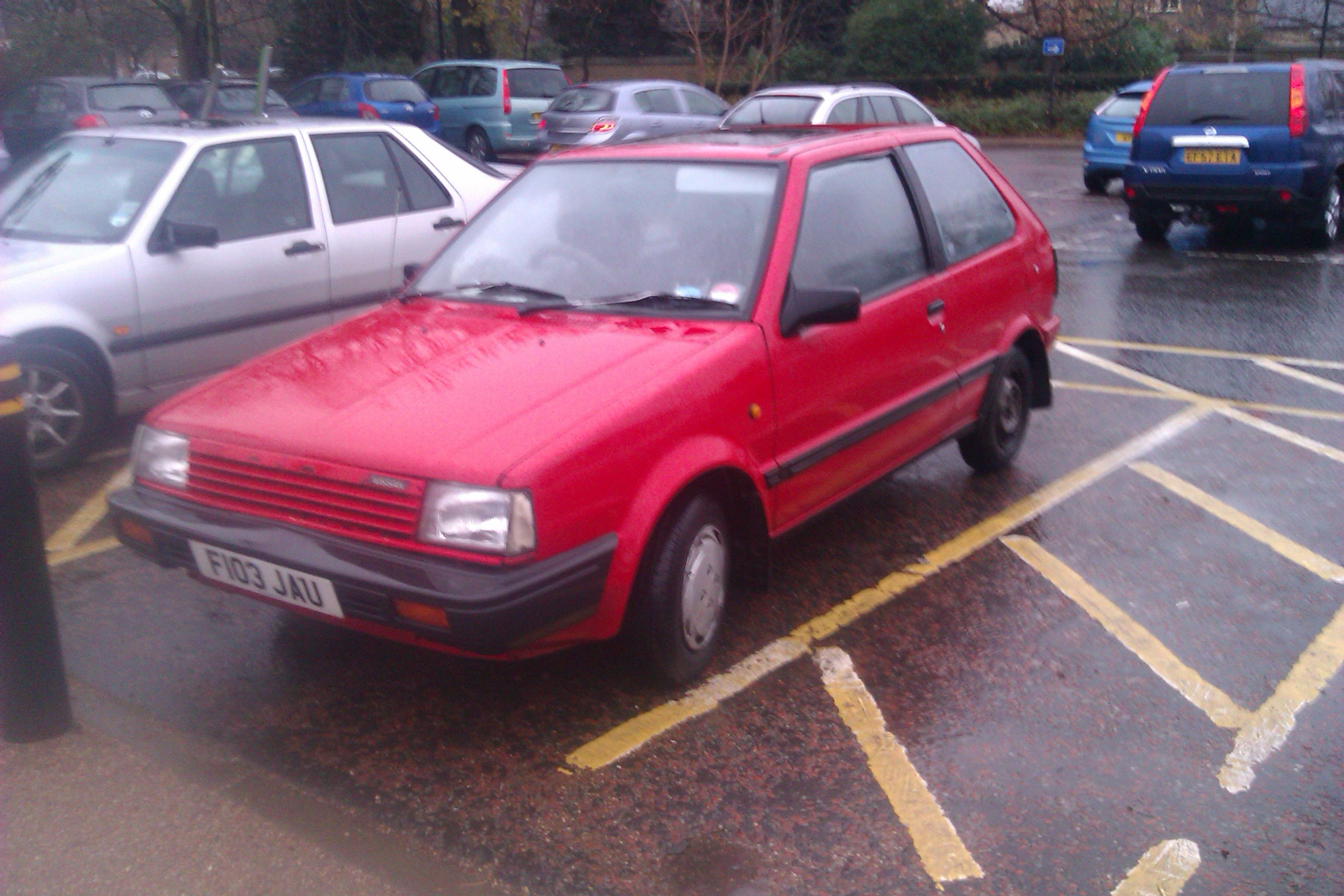 1989 Nissan Micra 1.0 GSX Auto (K10) | Flickr - Photo Sharing!