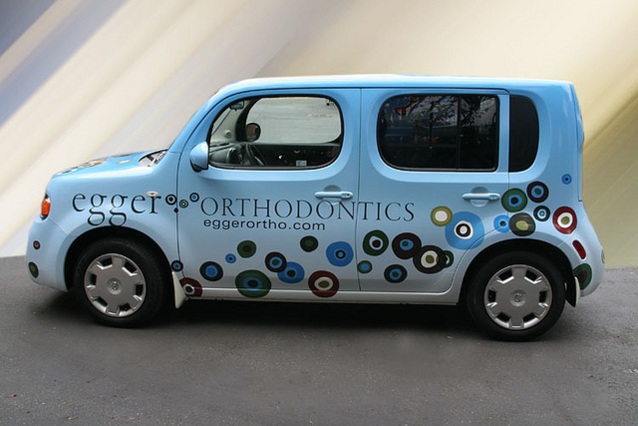 Nissan Cube Wrap | Flickr - Photo Sharing!