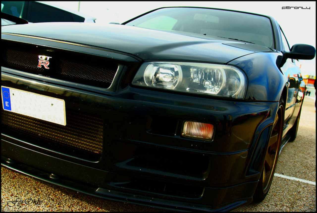 Nissan Skyline R34 GT-R[Beautiful monster] | Flickr - Photo Sharing!