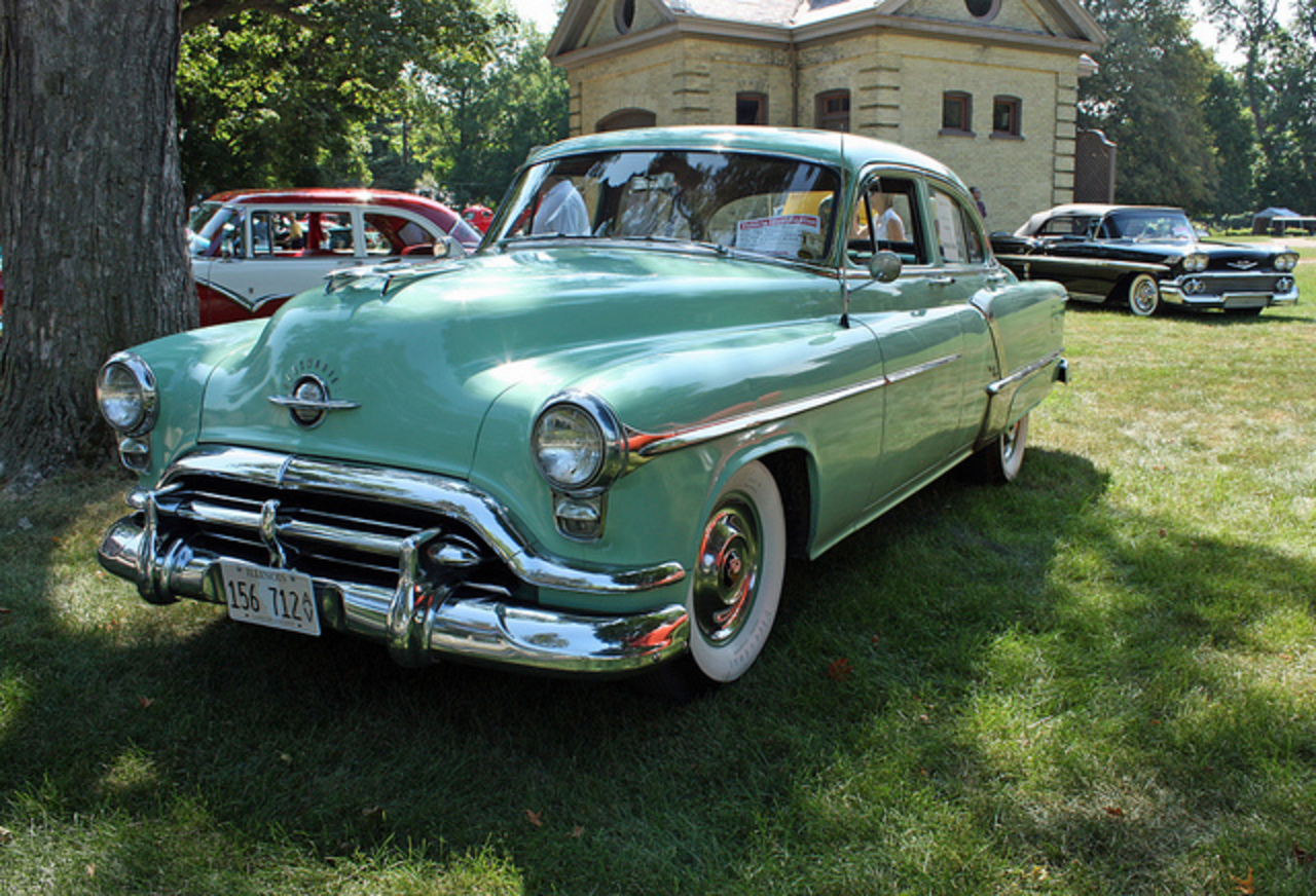 1952 Oldsmobile 98 4-Door Sedan (4 of 7) | Flickr - Photo Sharing!
