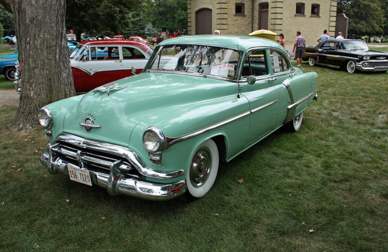 1952 Oldsmobile 98 4-Door Sedan (3 of 7) | Flickr - Photo Sharing!