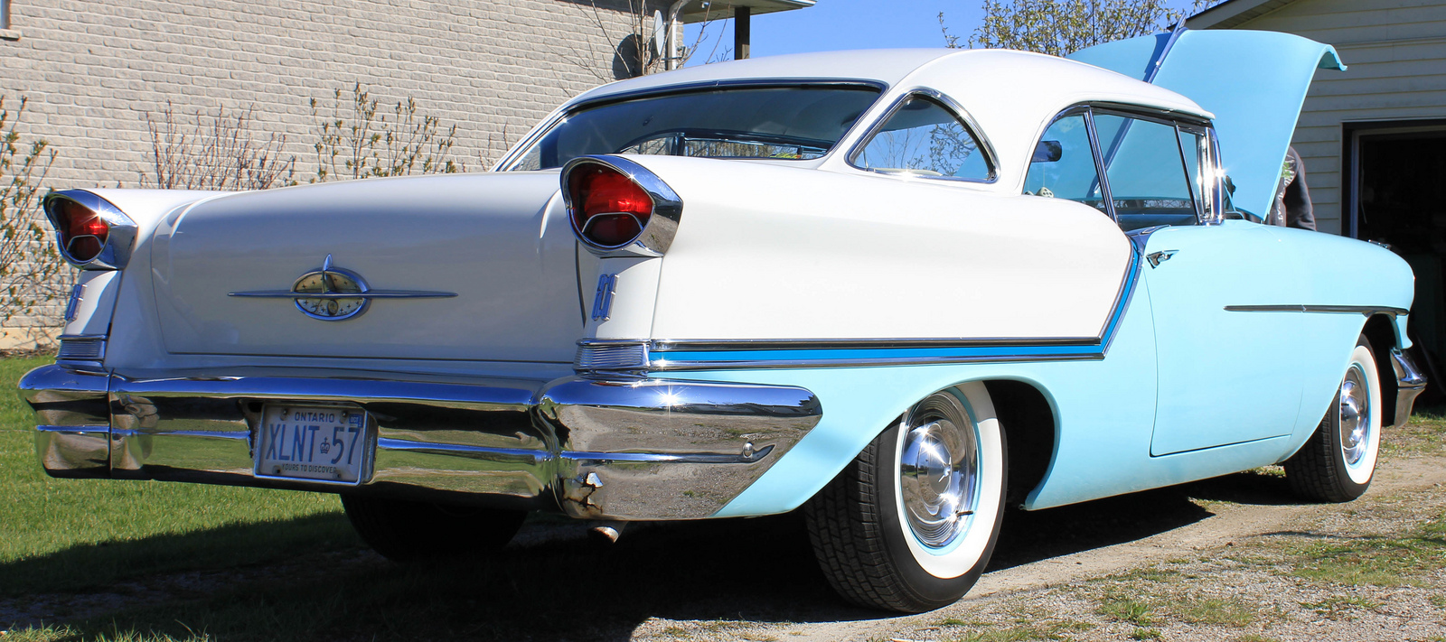 57 Oldsmobile Holiday 88 Coupe | Flickr - Photo Sharing!