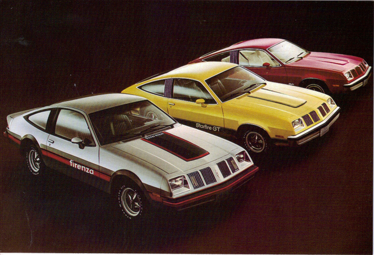 1979 Oldsmobile Starfire GT & Firenza | Flickr - Photo Sharing!