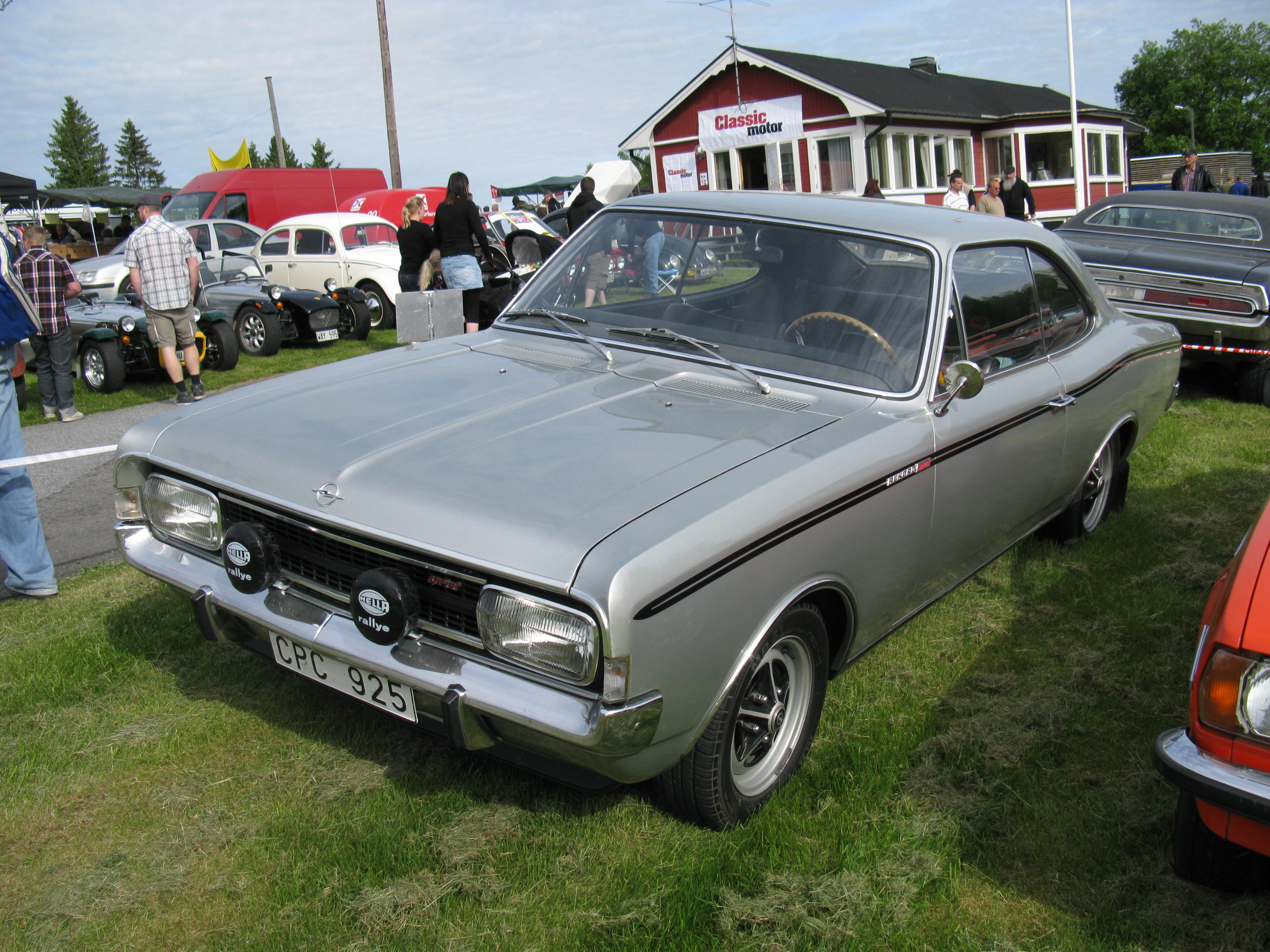 Opel Rekord Sprint Coupé | Flickr - Photo Sharing!
