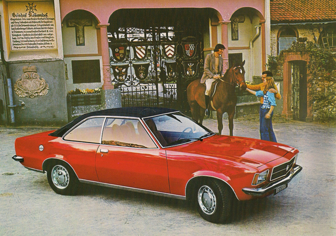 1977 Opel Rekord Coupe | Flickr - Photo Sharing!