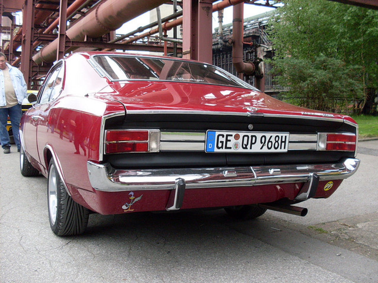 Opel Rekord 1700L Coupe | Flickr - Photo Sharing!