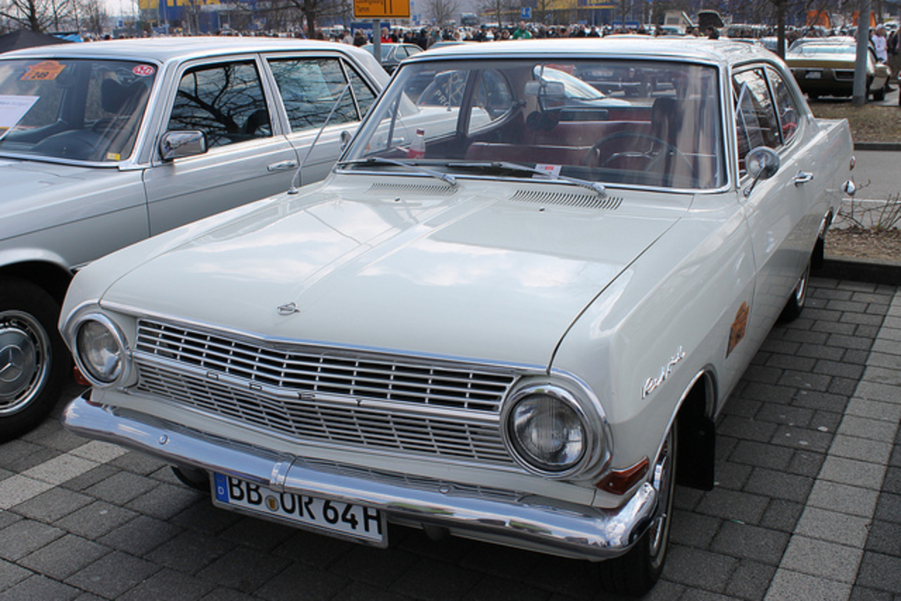Opel Rekord B 1700 | Flickr - Photo Sharing!