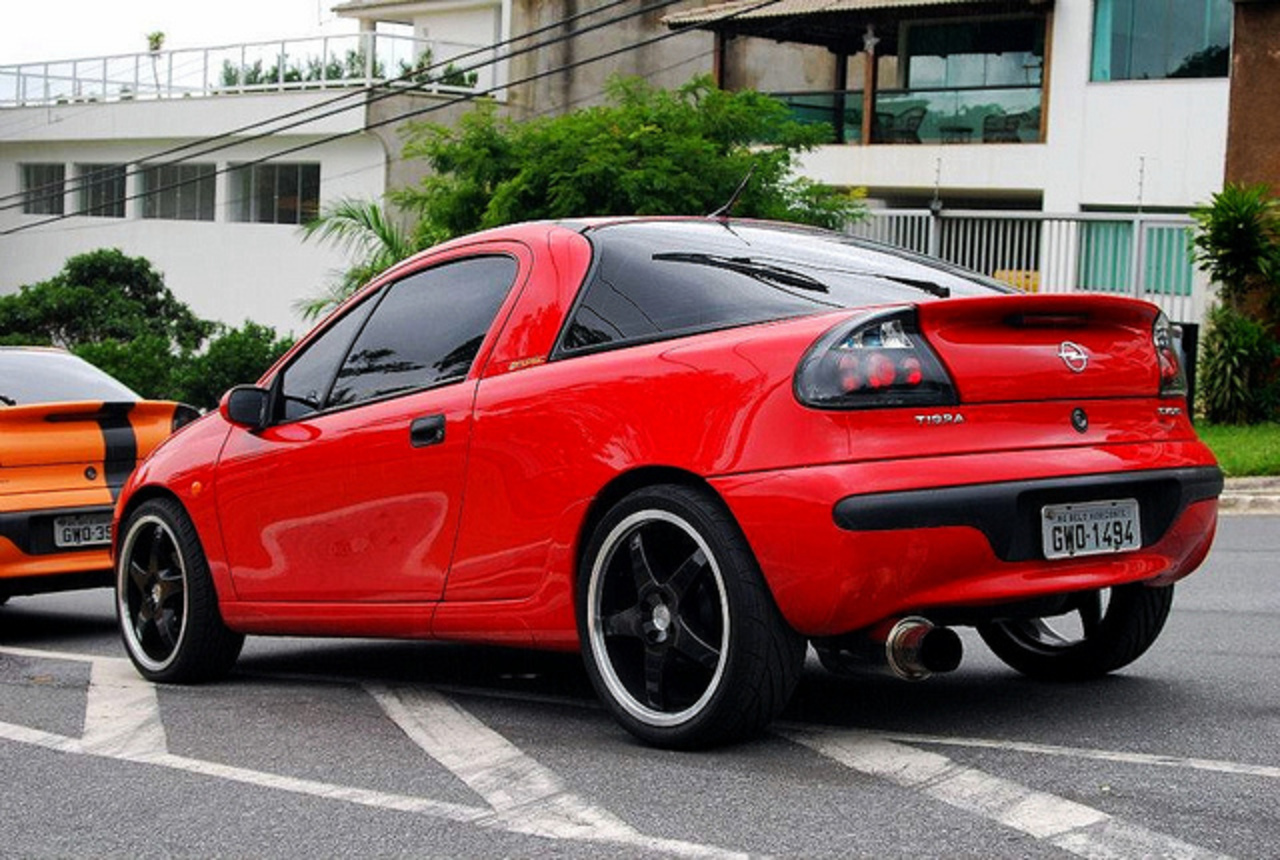 OPEL TIGRA in BRAZIL | Flickr - Photo Sharing!