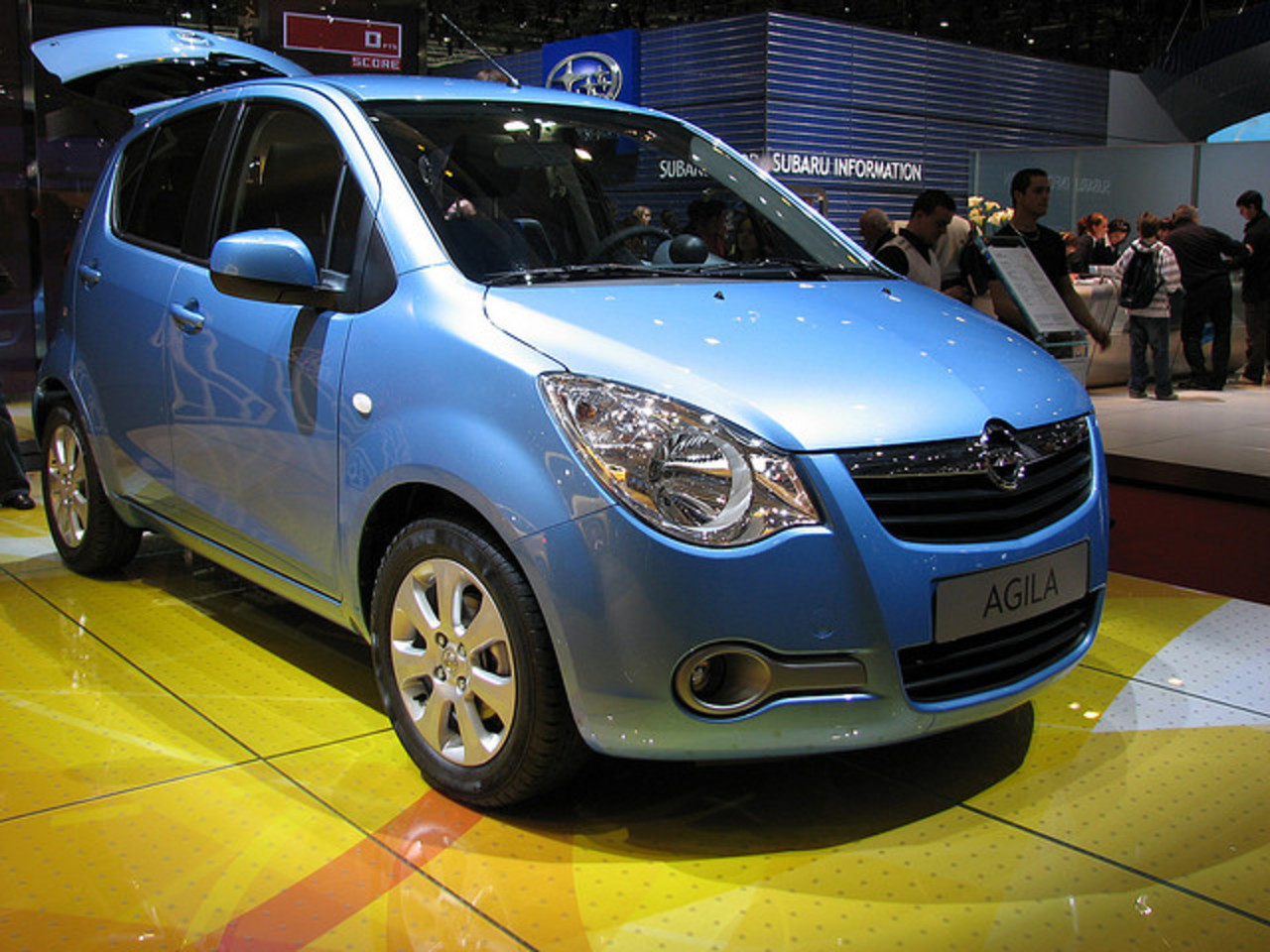 The all new Opel Agila | Flickr - Photo Sharing!