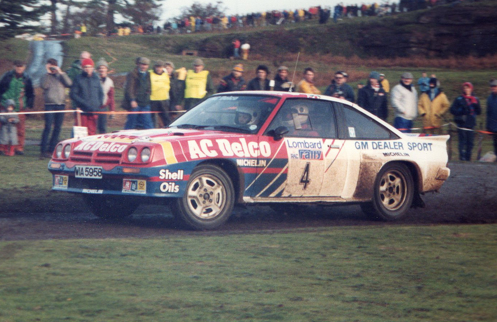 Flickr: The RWD VAUXHALL OPEL RALLY CARS Pool