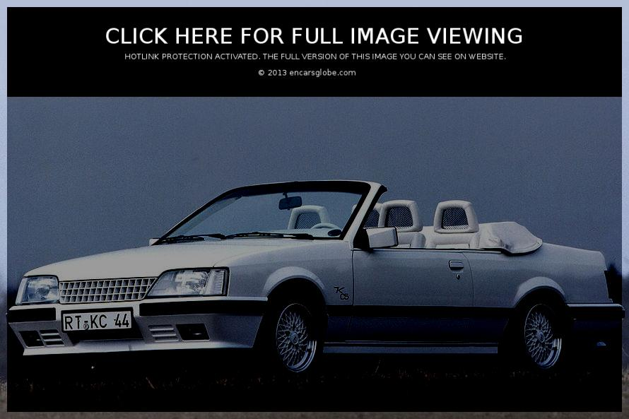 Opel Monza GSE cabrio by Keinath Photo Gallery: Photo #11 out of ...
