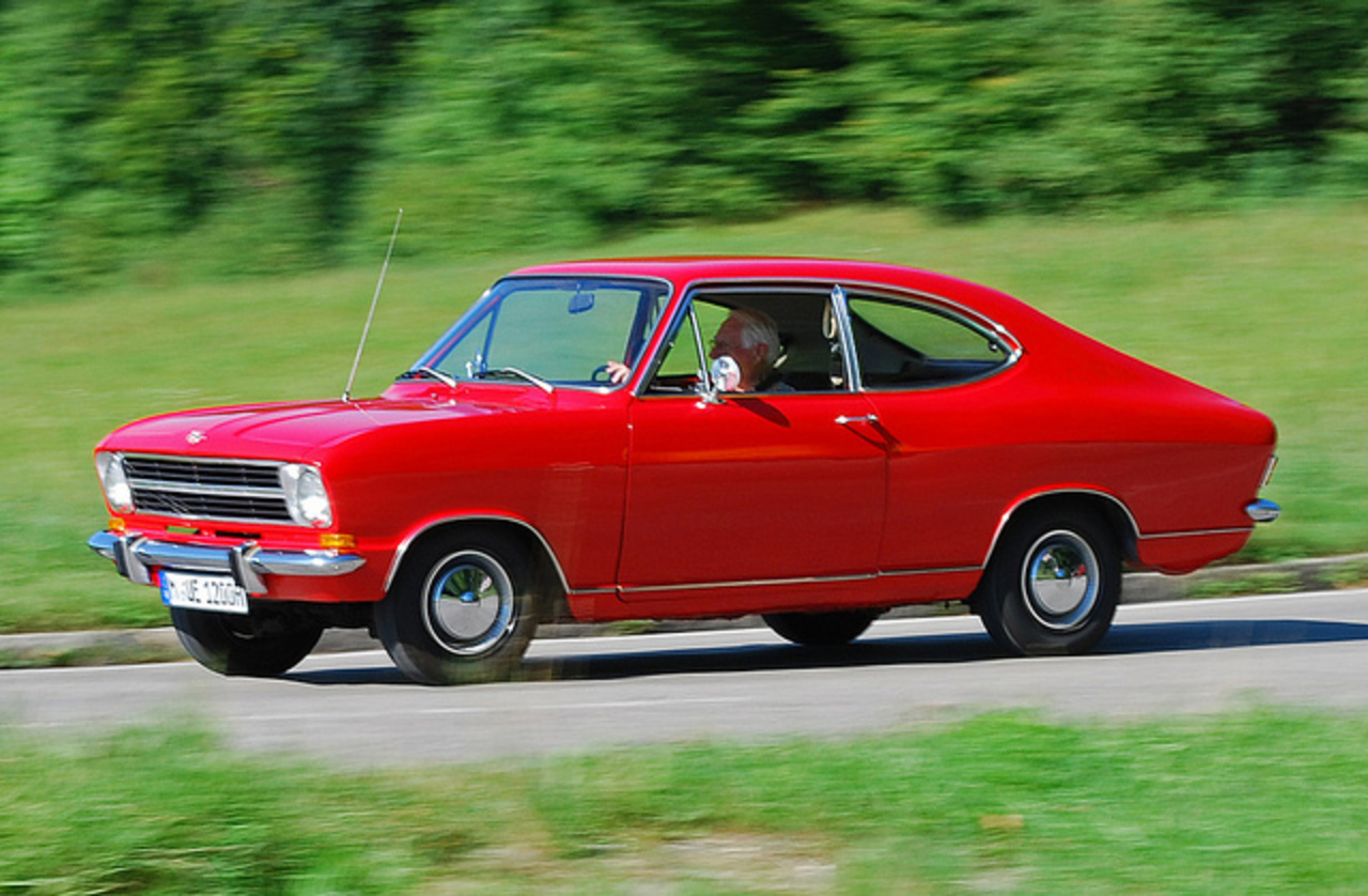Opel Kadett B Coupe LF | Flickr - Photo Sharing!