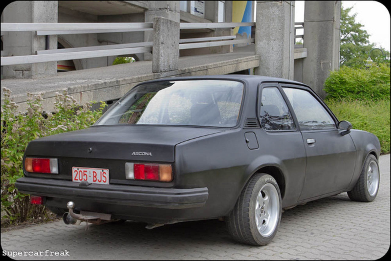 Opel Ascona | Flickr - Photo Sharing!