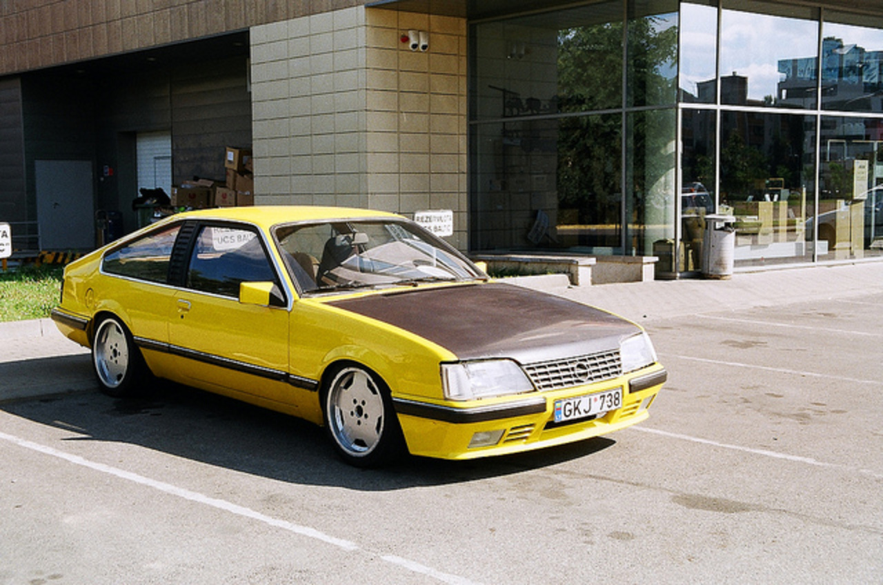 Opel Monza GSE 1985 | Flickr - Photo Sharing!