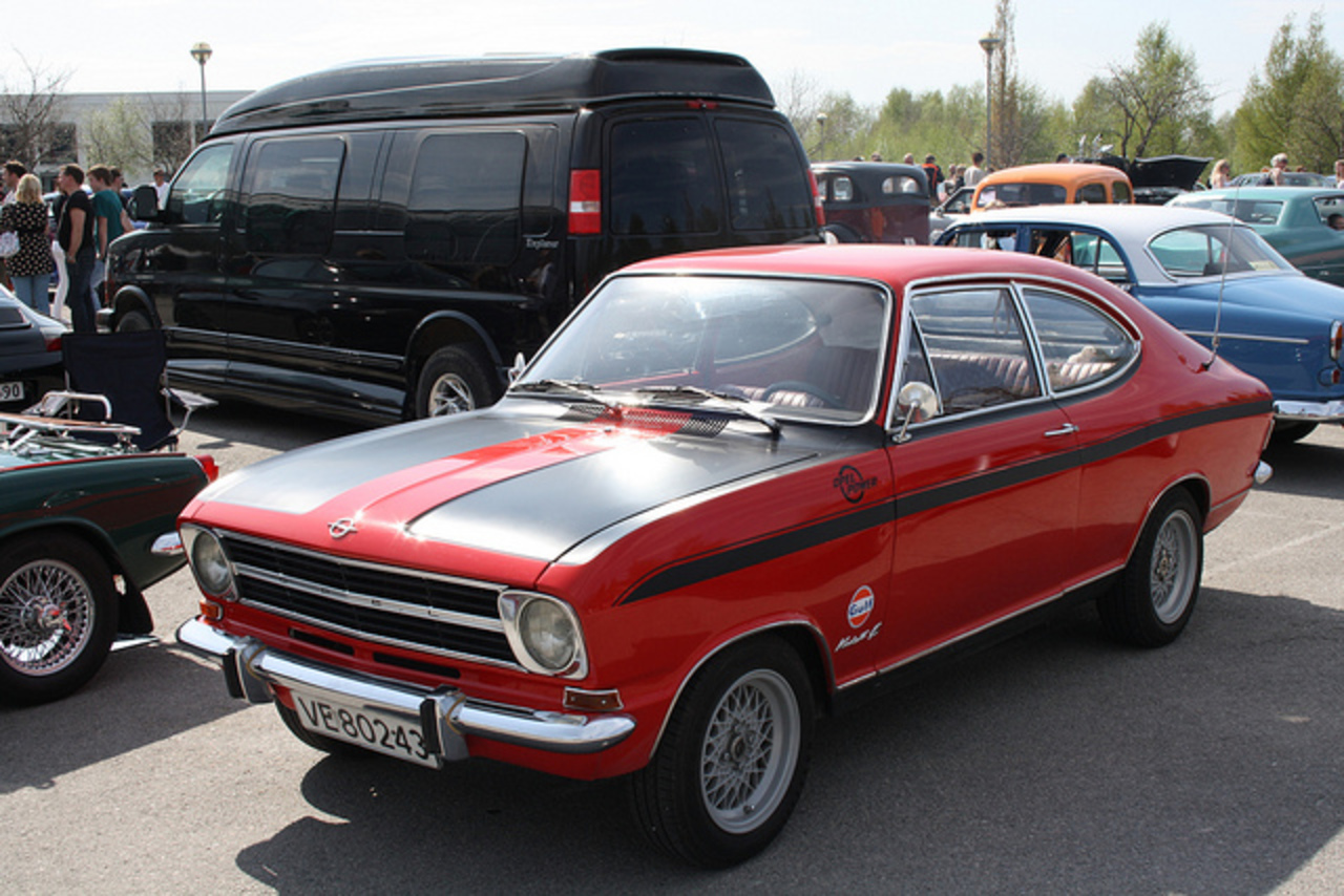 Opel Kadett b Coupe | Flickr - Photo Sharing!