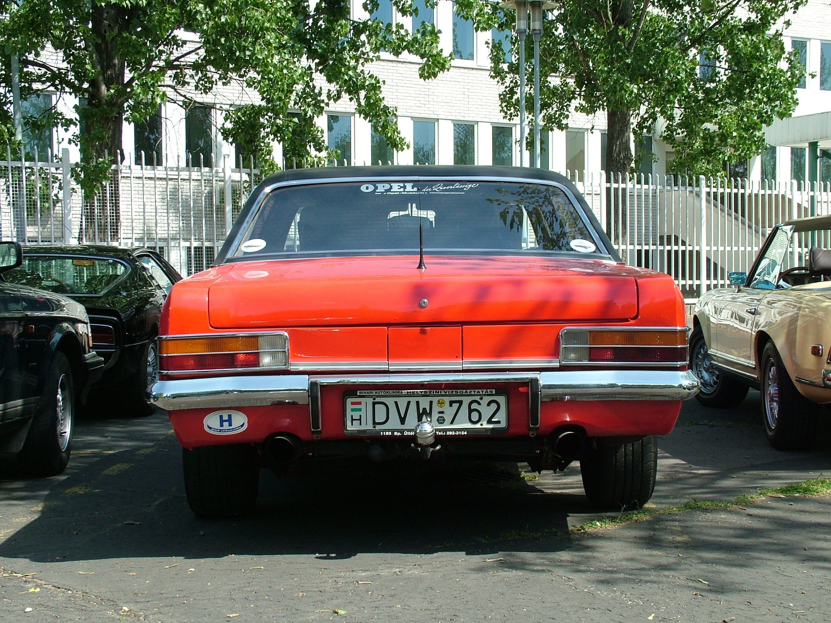 A visitor's Opel Admiral B, 1969 | Flickr - Photo Sharing!