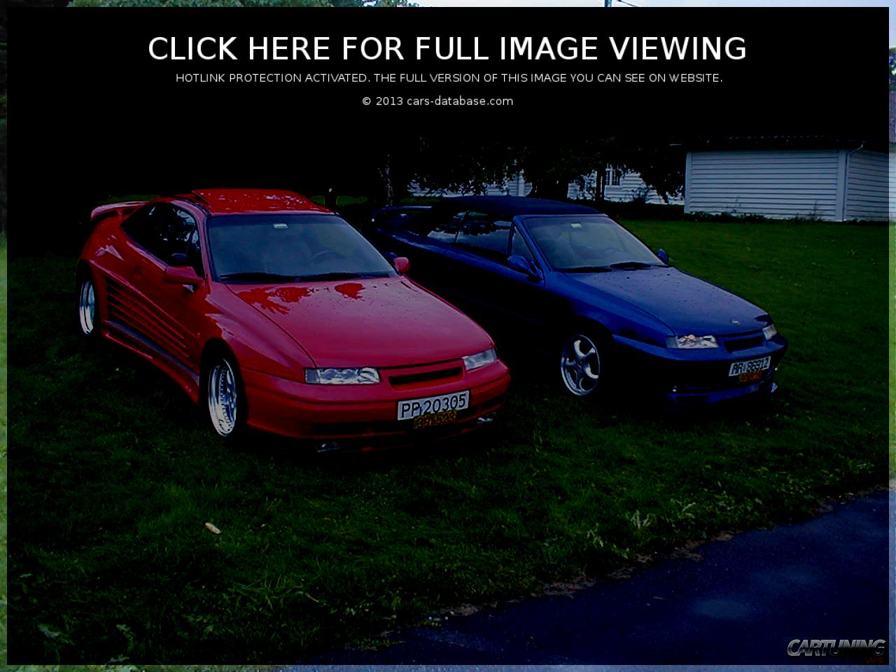 Opel Calibra: Information about model, images gallery and complete ...