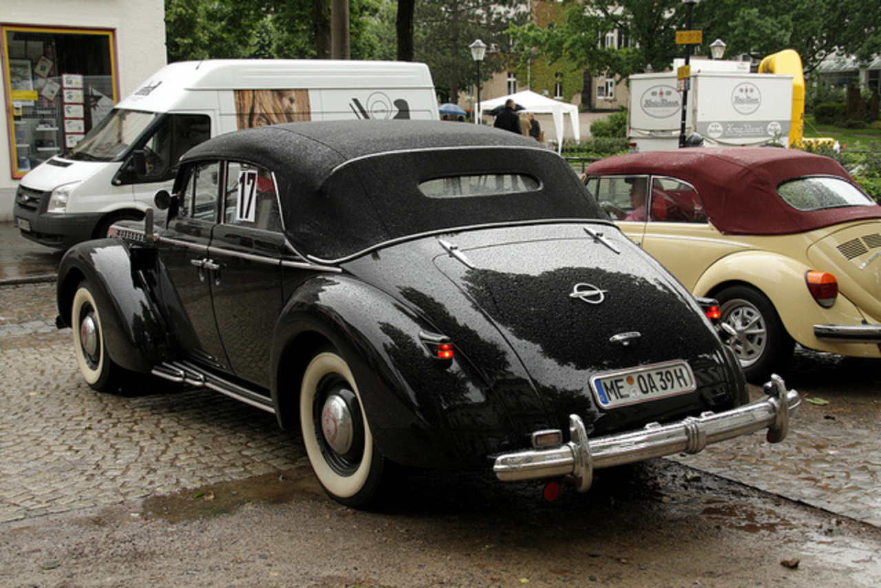 Opel Admiral Cabrio 1939 | Flickr - Photo Sharing!