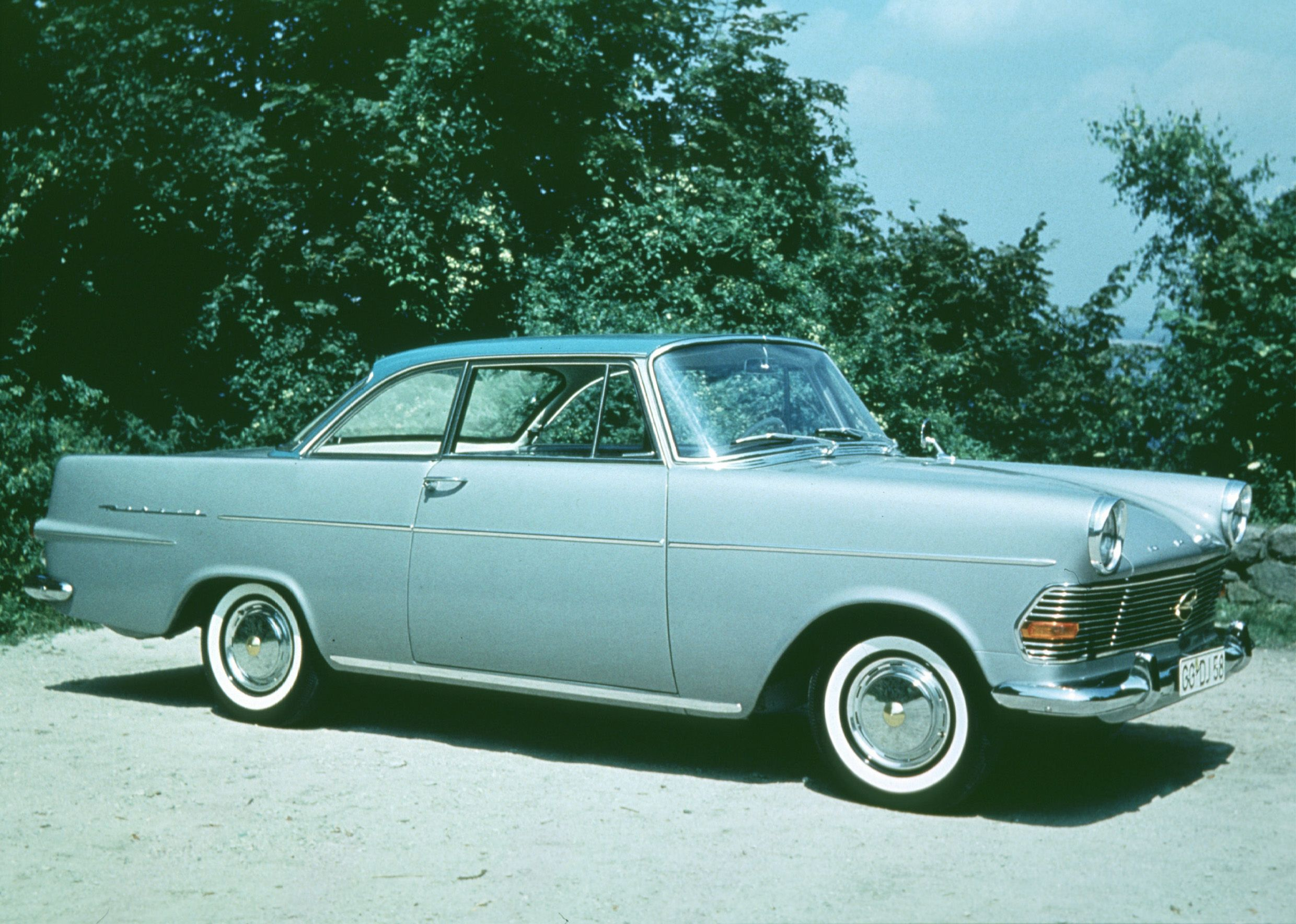 1961 Opel Rekord Coupe | Flickr - Photo Sharing!