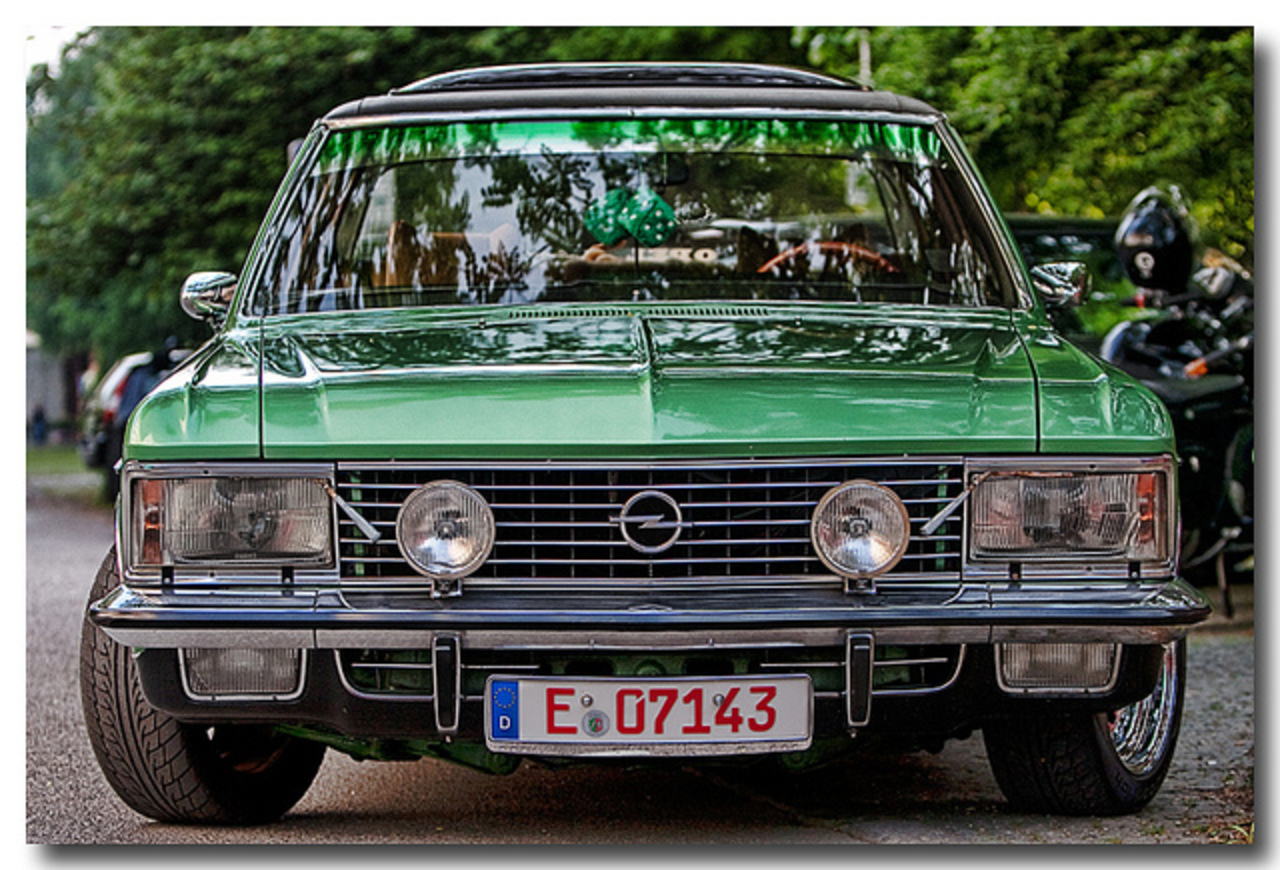 Opel Admiral | Flickr - Photo Sharing!