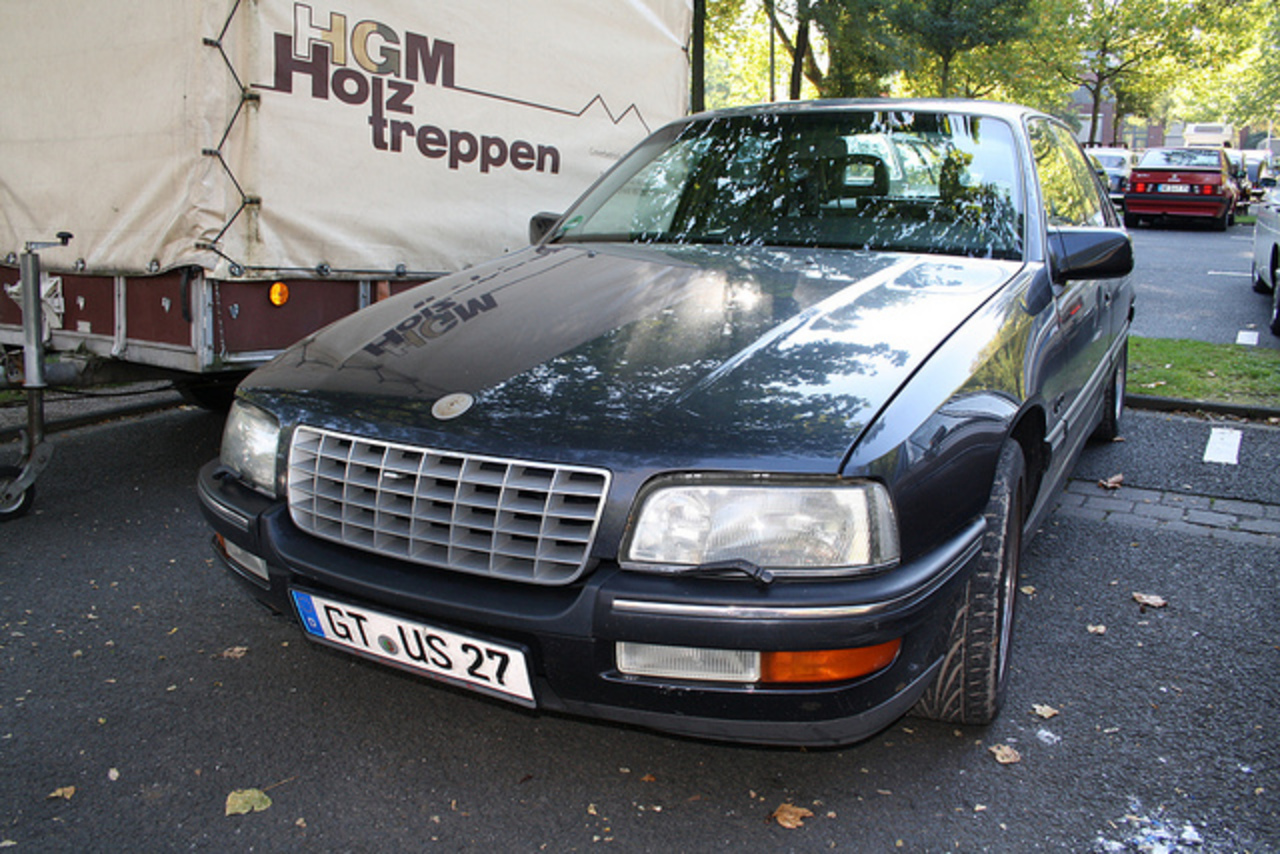 Opel Senator B 3.0i 24V | Flickr - Photo Sharing!