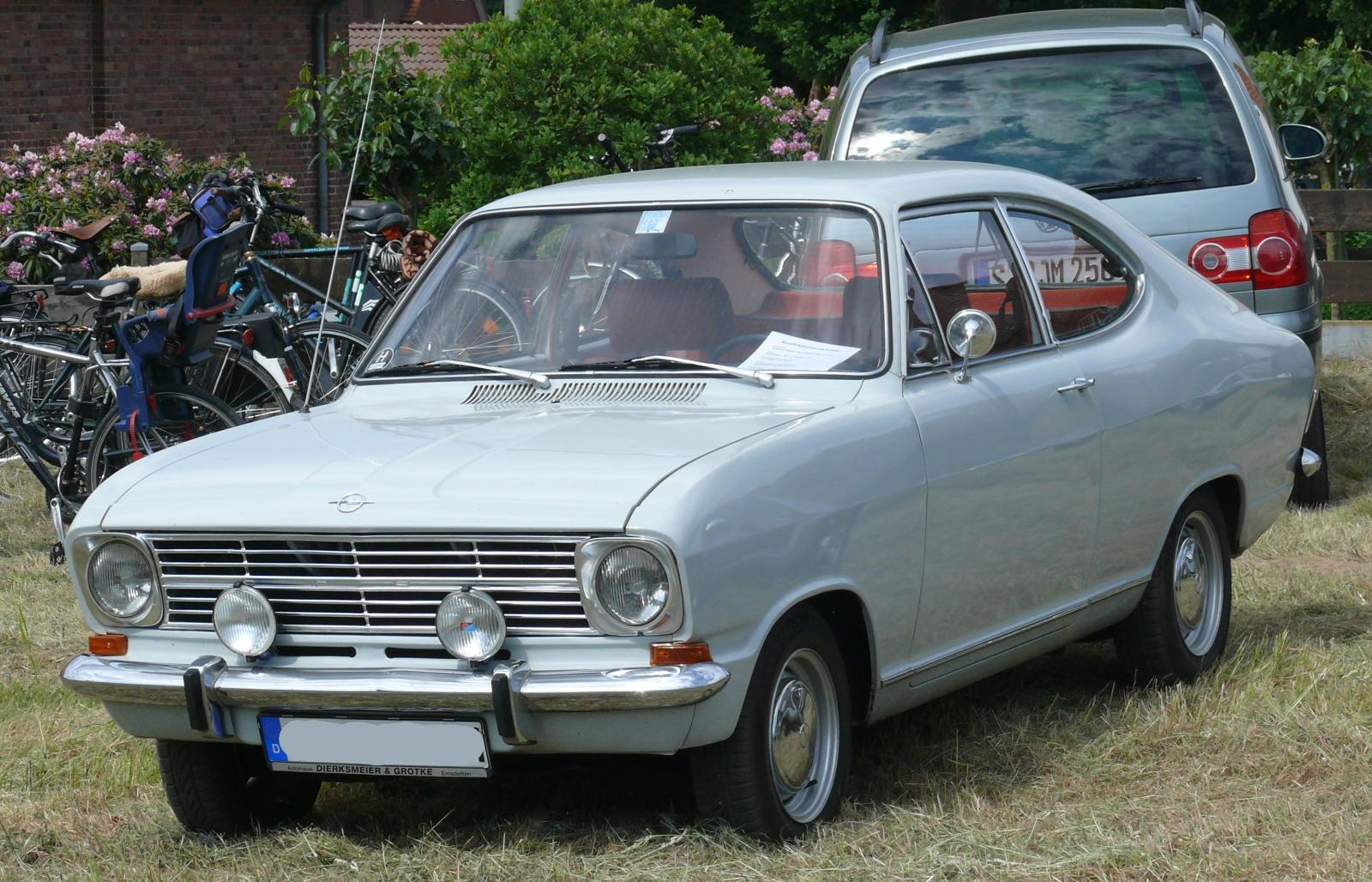 Opel Kadett B Coupe 1971 grey vl | Flickr - Photo Sharing!