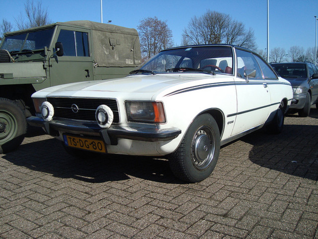 1974 Opel Rekord Sprint Coupé | Flickr - Photo Sharing!