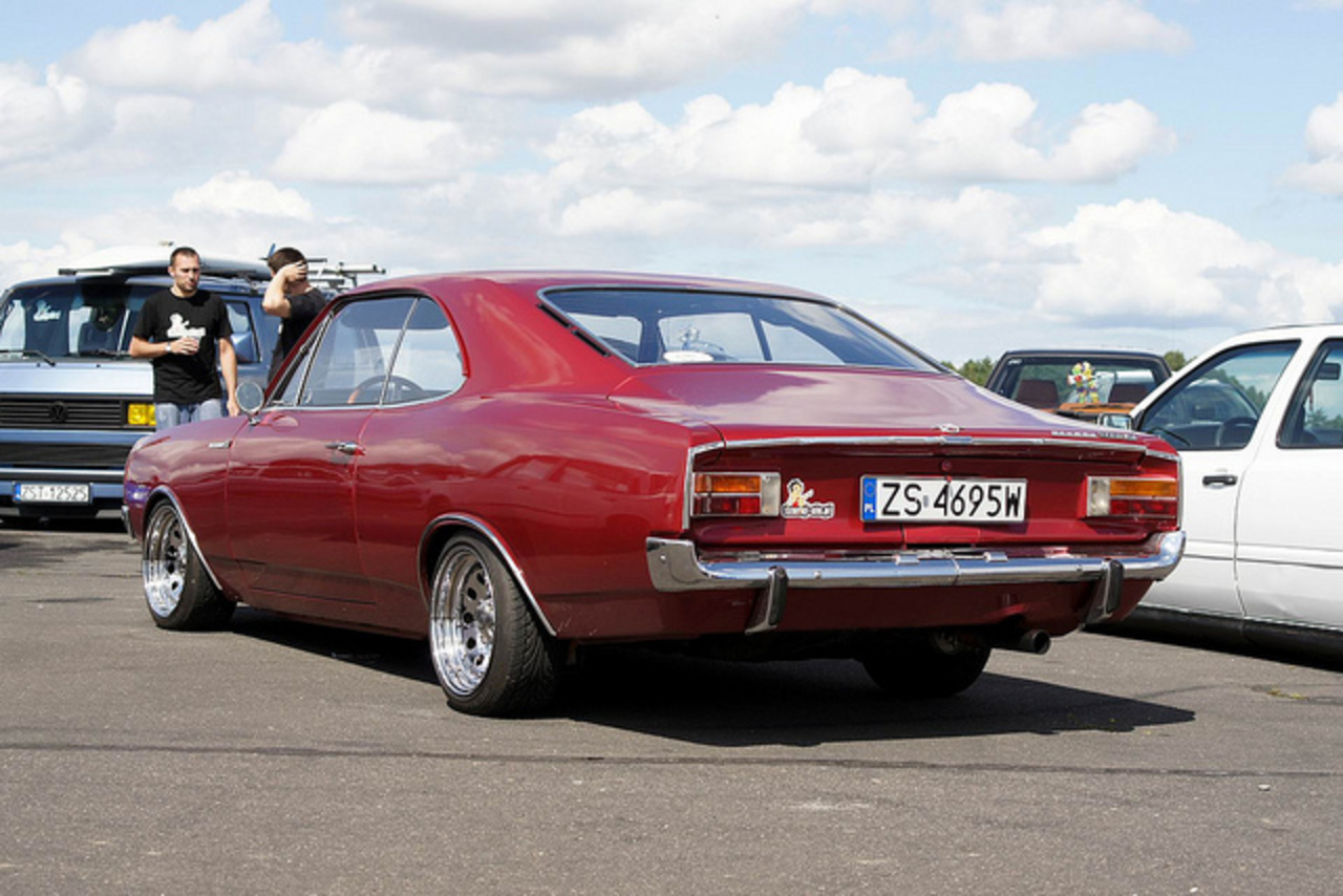 Opel Rekord Coupe | Flickr - Photo Sharing!