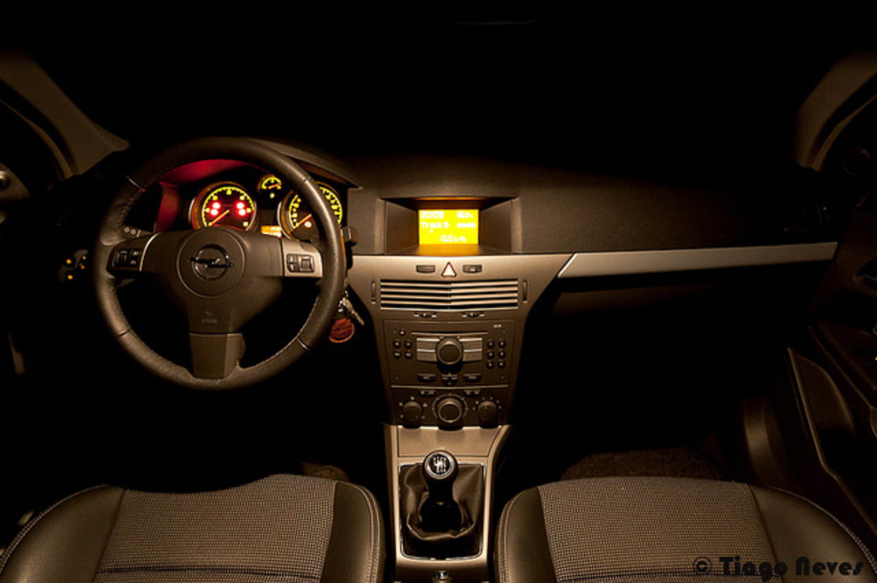 Opel Astra H Cosmo Interior | Flickr - Photo Sharing!