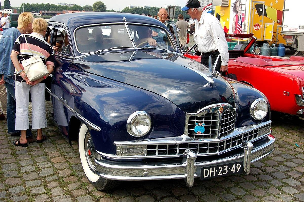 Packard Super Deluxe Eight 4dr sedan – Belgium