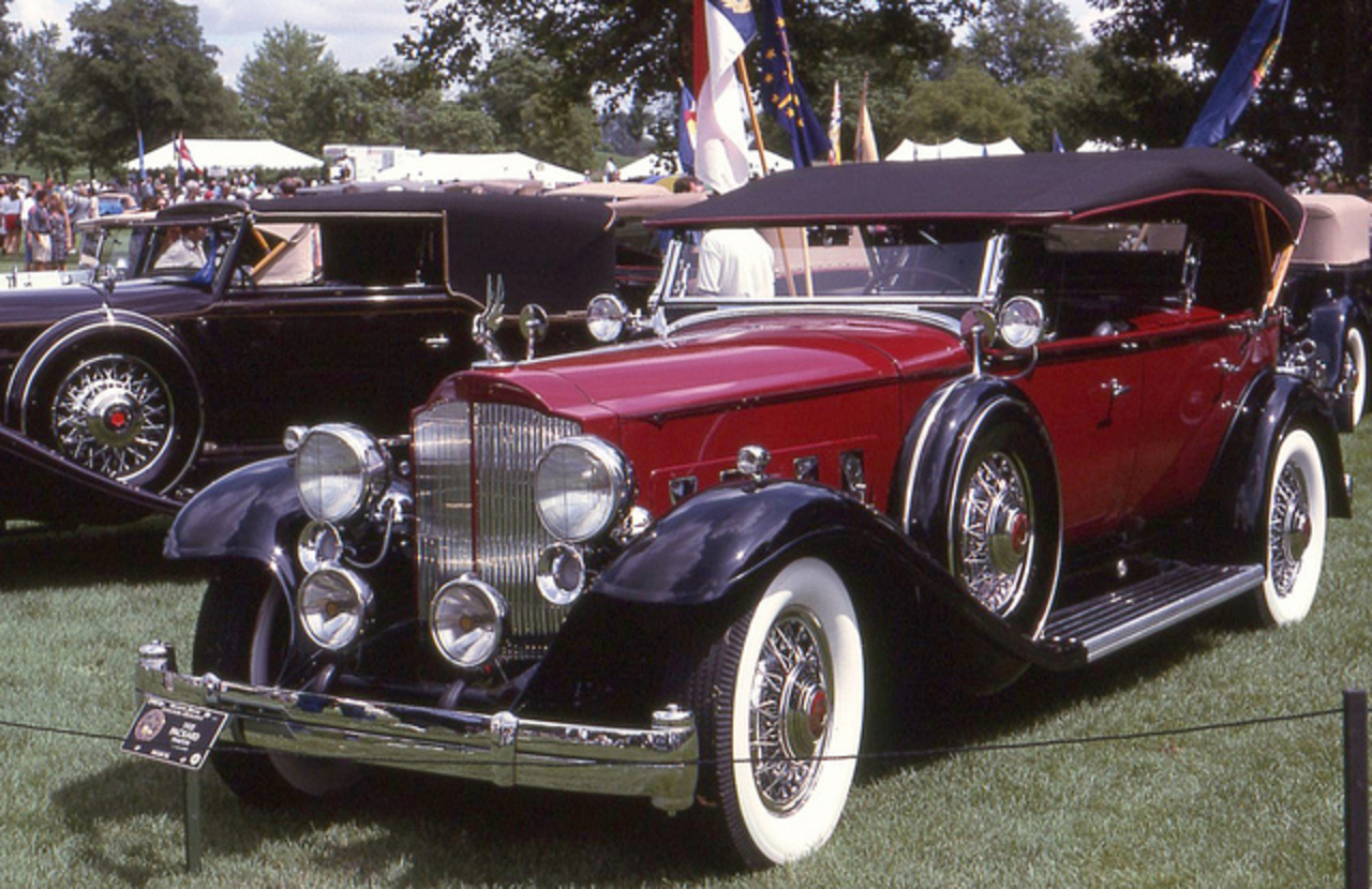 1932 Packard Twin Six dual cowl phaeton | Flickr - Photo Sharing!