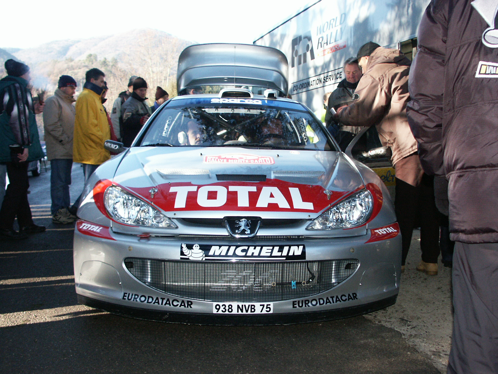 Rallye Monte Carlo 2002 - Peugeot 206 WRC | Flickr - Photo Sharing!