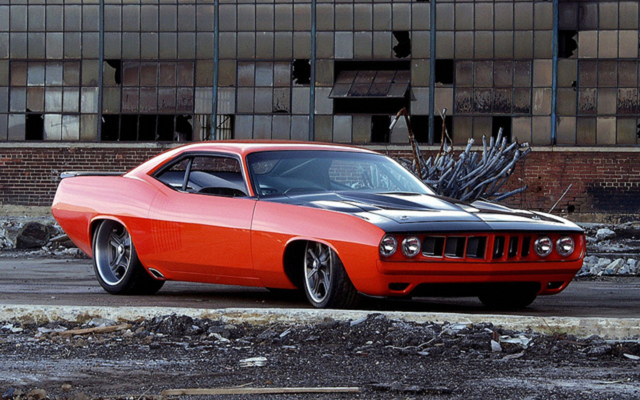 Custom G Force 1971 Plymouth Cuda | Flickr - Photo Sharing!