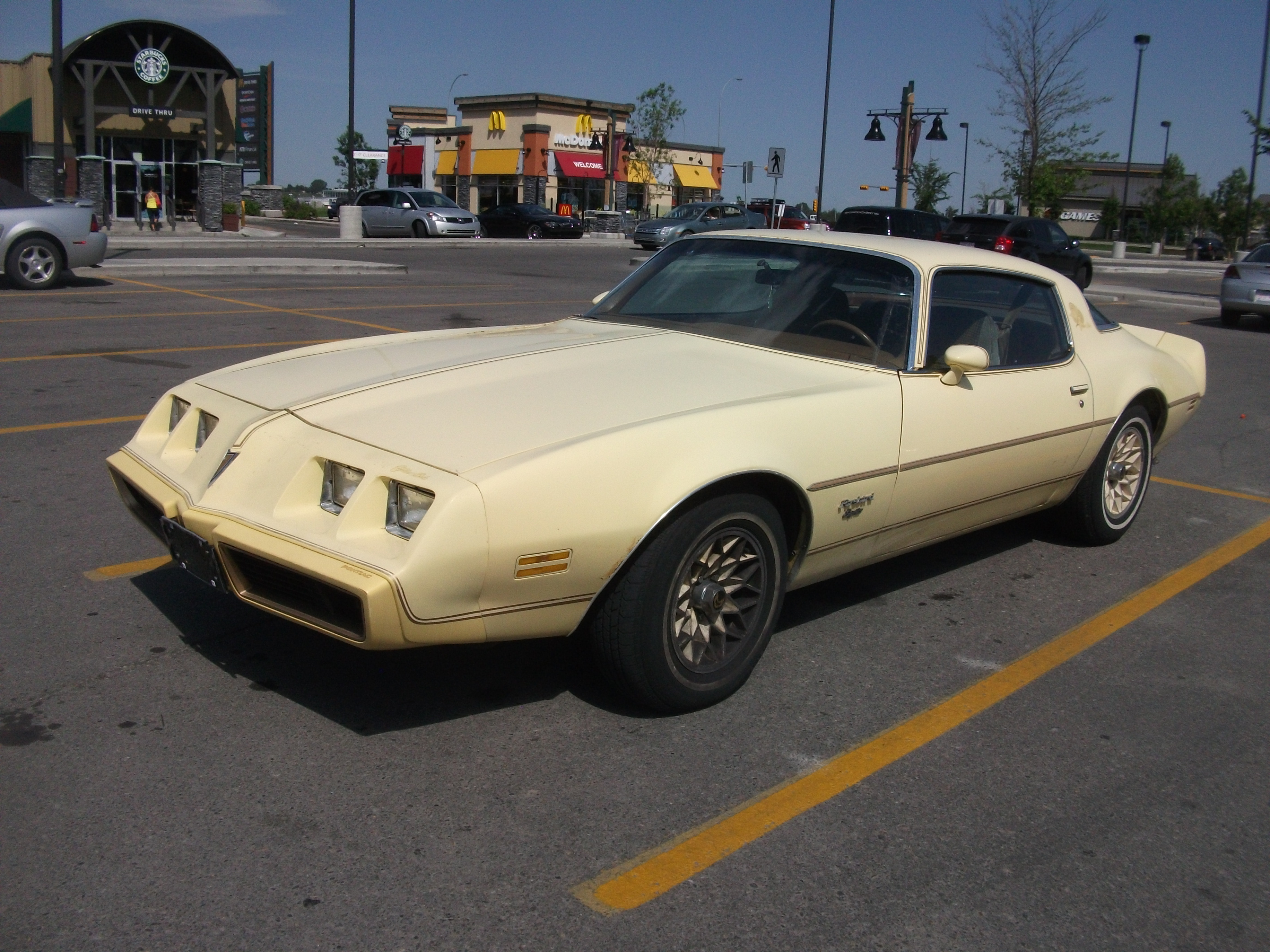 1980 Pontiac Firebird Esprit Yellow Bird | Flickr - Photo Sharing!