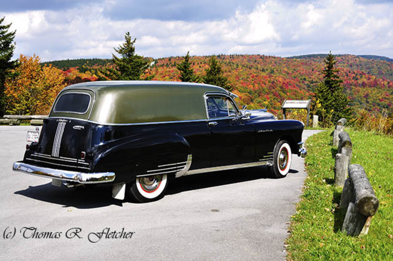Taking in the view; a 1949 Pontiac Sedan Delivery | Flickr - Photo ...